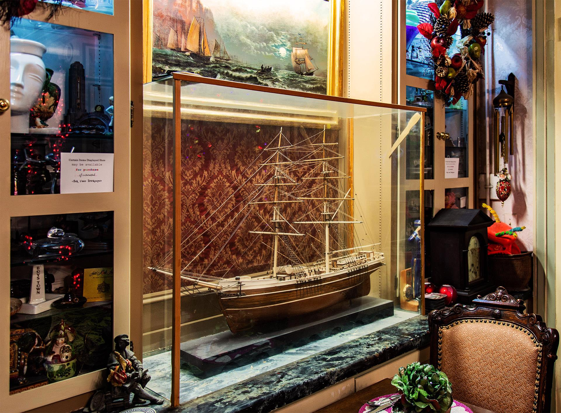 model-ship-in-glass-case-from-side